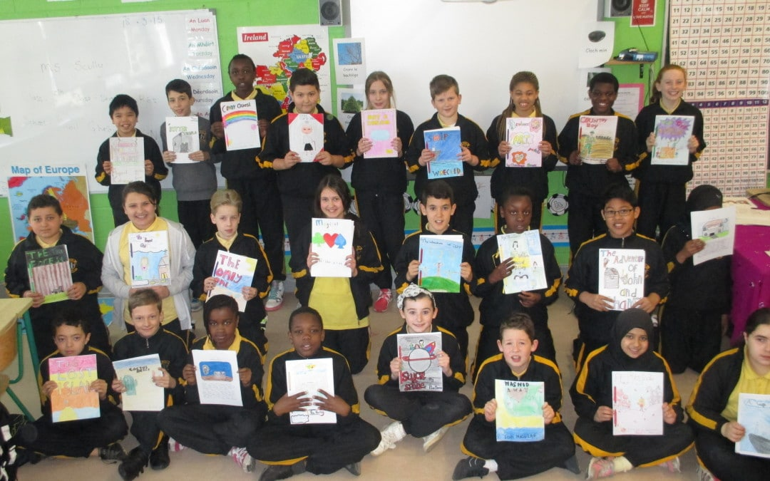 Write A Book Project 2015- 5th Class