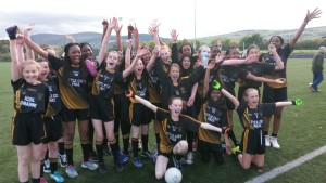 Senior Girls Semi Final victory