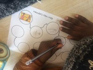 Mapping Handa's journey