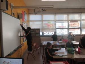 measuring the white board