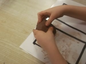 forming the clay
