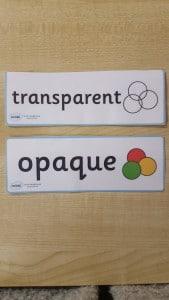 trans v opaque
