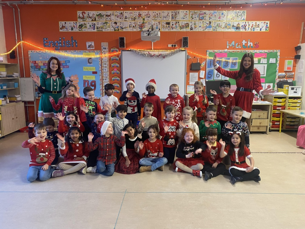Ms O'Neill and Ms Price's Senior Infants