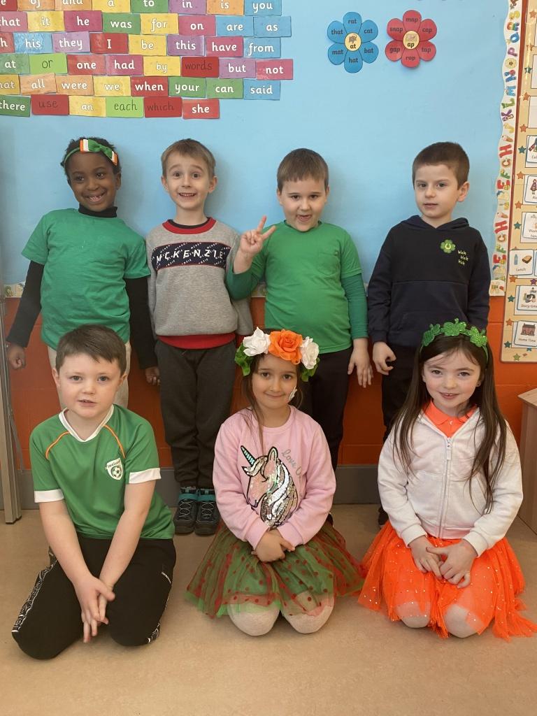 Ms O'Neill's Senior Infants